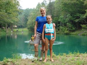 Family fun on the pond!